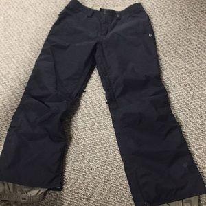 Black Burton Snow pants